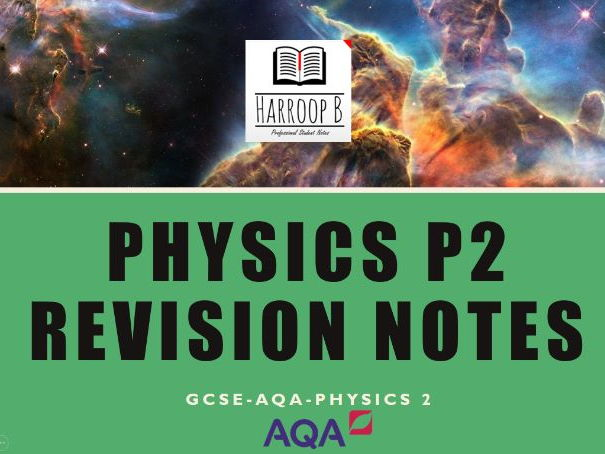 GCSE Physics P2 Revision Notes AQA