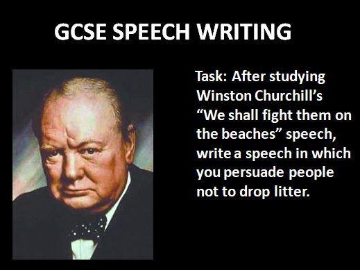 Speech: Fight Them On The Beaches