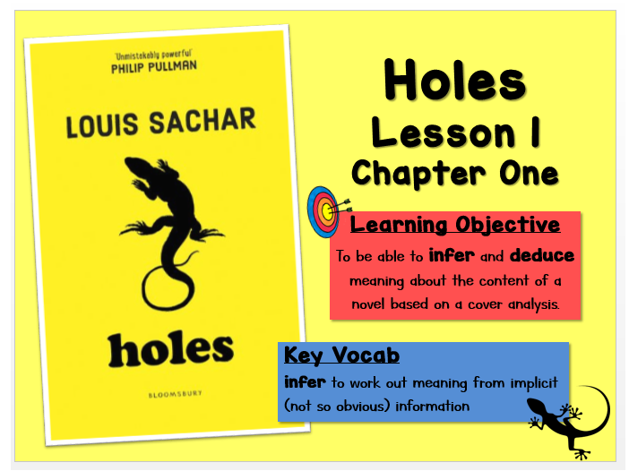 Holes - Lesson 1 (Inference and Predictions)