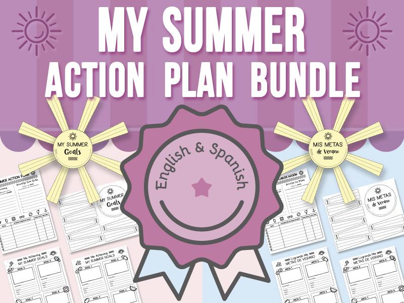 My Summer - Action Plan BUNDLE