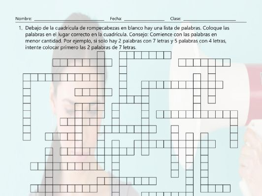 Conocer Saber Pedir And Preguntar Framework Puzzle