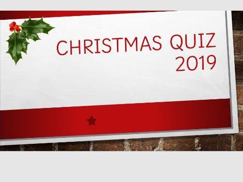 2019 Christmas Quiz KS2