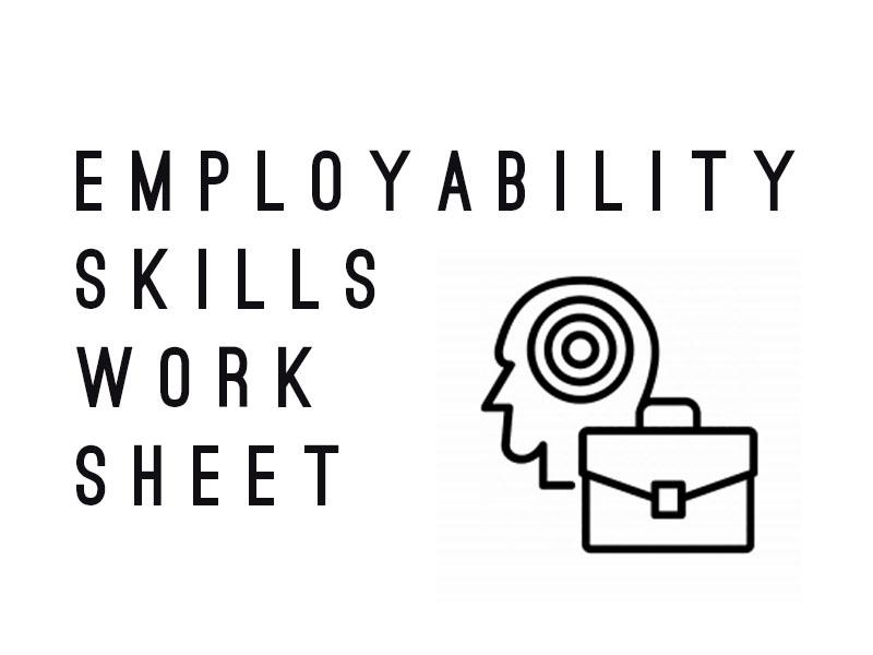 Employability Skills Worksheet