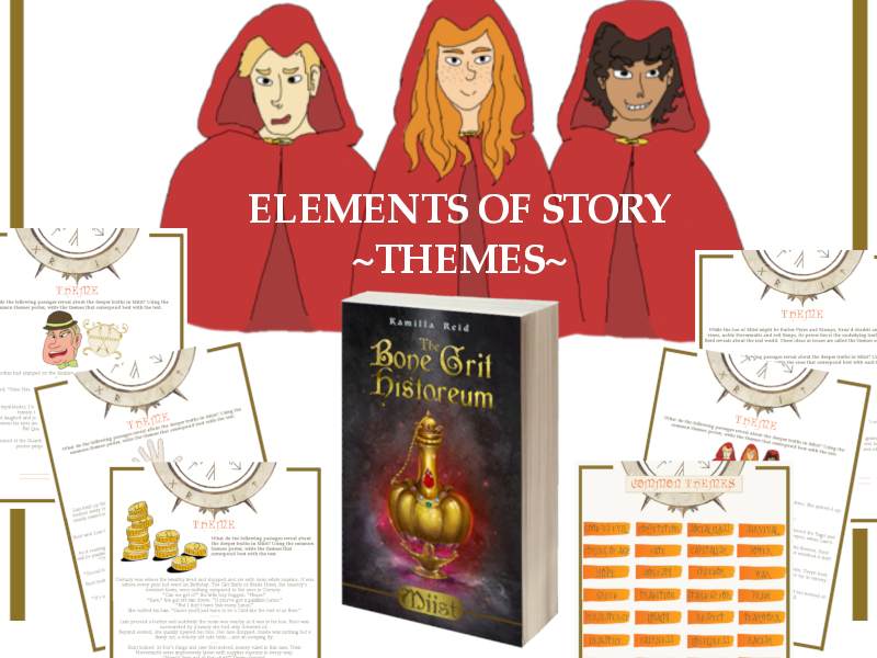 Elements of Story - Theme from the middle grade novel, Miist