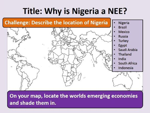 Introduction to Nigeria as an NEE
