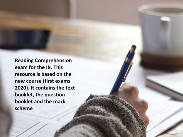 IB Spanish B Higher Level (HL) - Mock Exam - Reading comprehension