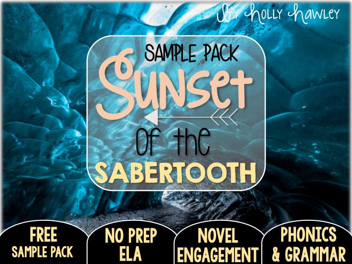 Sunset of the Sabertooth NO PREP (ELA) SAMPLE