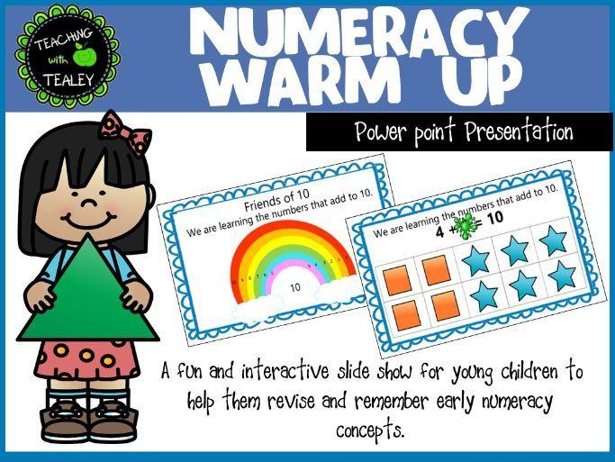 Explicit teaching slidehsow -  Basic Numeracy Skills