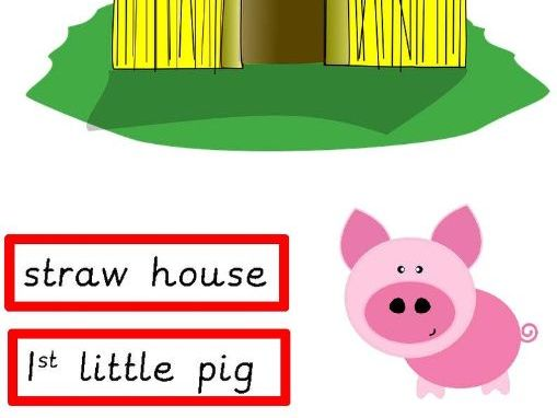The Three LIttle Pigs Activities