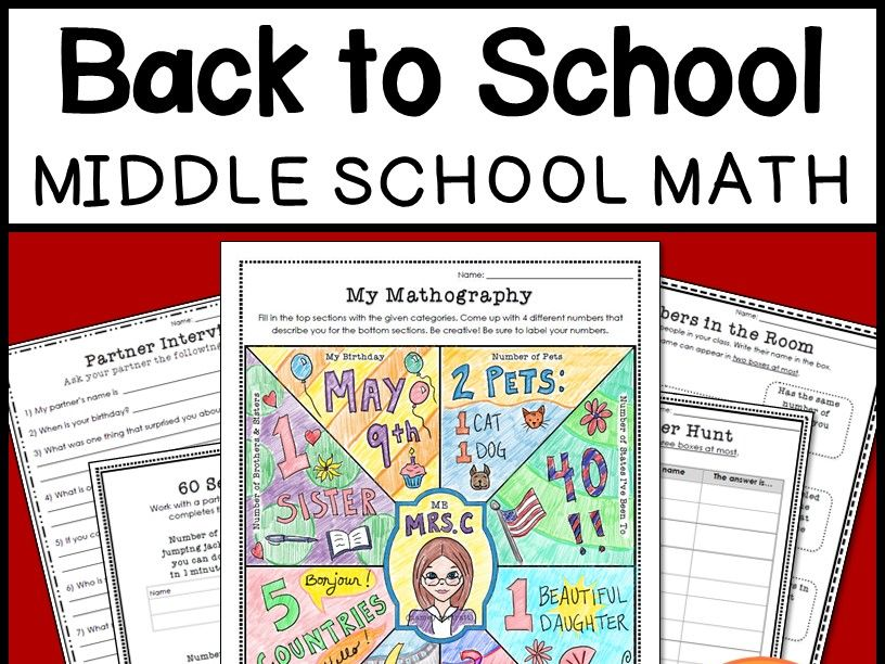 Tes Maths: Back-to-school activities | Tes