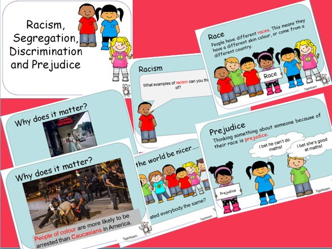 Racism, Discrimination, Prejudice and Segregation PPT
