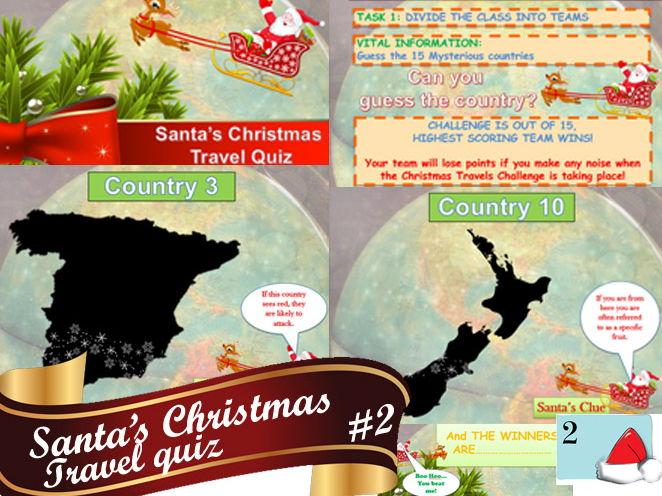 Christmas Travel Quiz Awesome #2