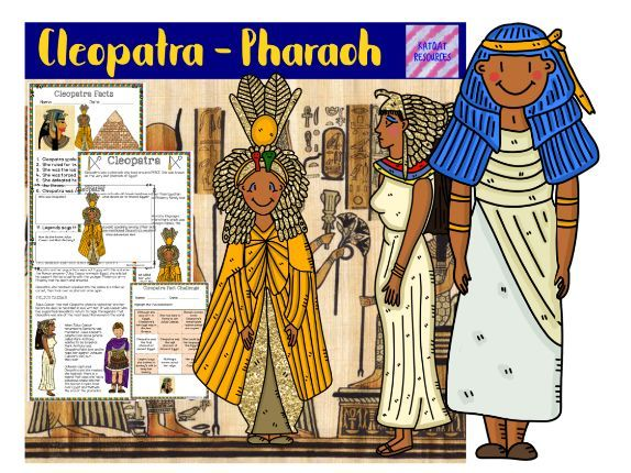 Cleopatra information and activity lesson