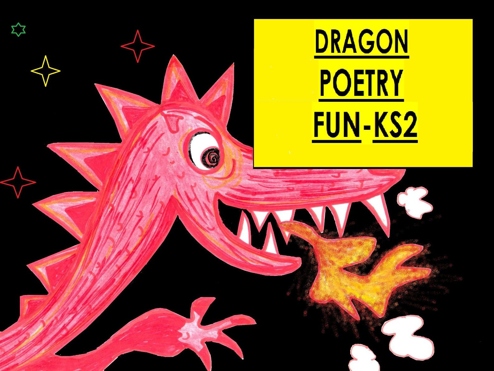 Dragon Writing Fun Bundle - KS2