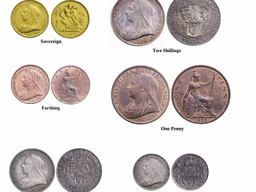 Victorian Coin Images
