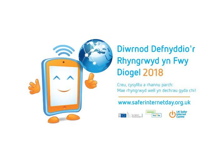 Diwrnod Defnyddio'r Rhyngrwyd yn Fwy Diogel 2018 - Pecyn Adnoddau plant 11-14 oed