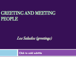 Spanish Greetings Bundle