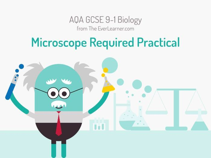 AQA GCSE 9-1 Biology: Microscope Required Practical