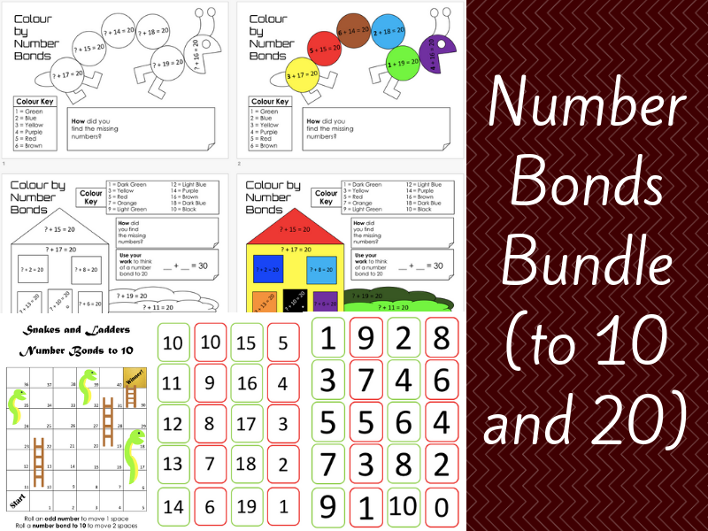Number Bonds (to 10 and 20)