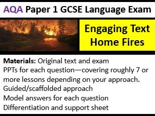 AQA GCSE English Language Paper 1 Exam Preparation