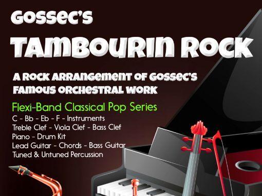 Tambourin Rock (Flexi-Band Score & Parts)
