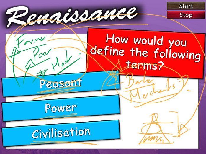 The Italian Renaissance 1: Introduction (audio enabled, self-teach)