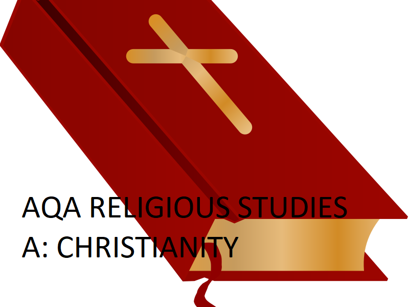 AQA Religious Studies A Christianity 9-1 Theme F Religion, Human rights and social justice