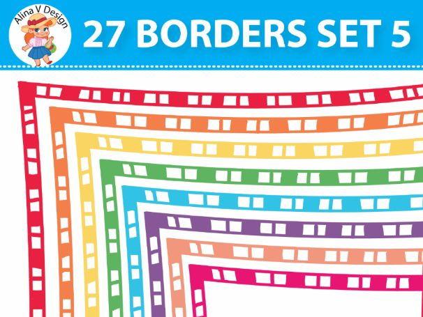 27 Borders Set 5
