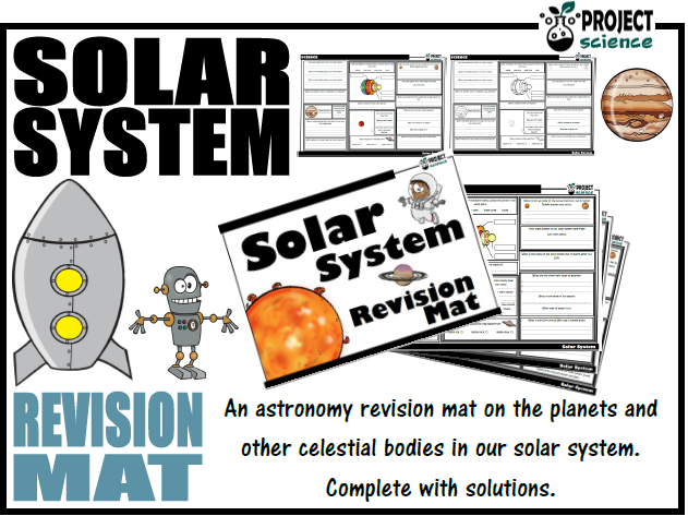 Solar System Revision Mat