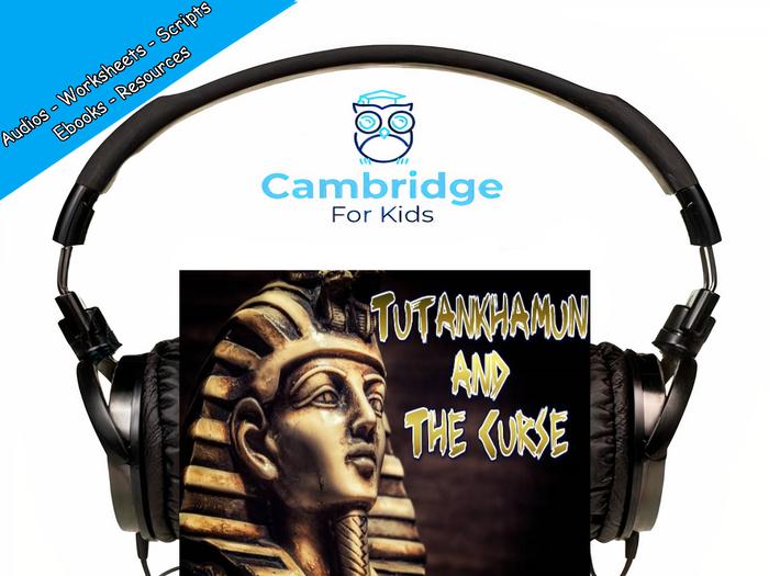 Tutankhamun's Curse Audiobook & Comprehension Activities / Worksheets / eBooks