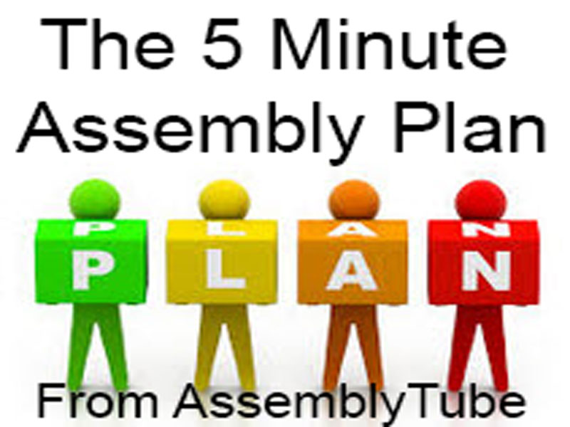 The 5 Minute Assembly Plan - A Whole Year of Assemblies