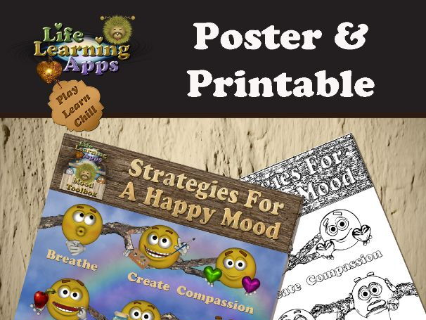 Poster: Strategies for a Happy Mood