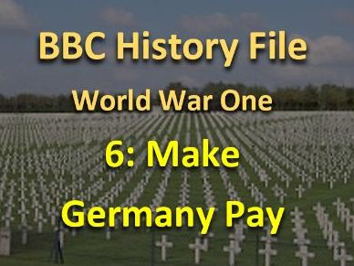 History File WWI: Make Germany Pay	 video questions