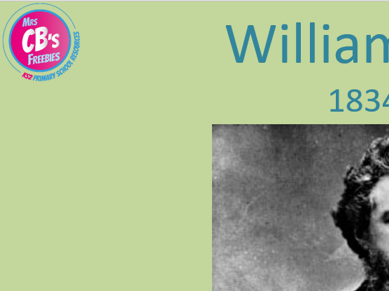 William Morris - Art lesson - Powerpoint (ppt) including facts, his work and a task to set.