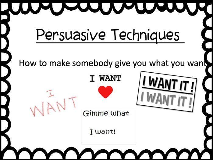 Persuasive Techniques PPT [Ethos, Pathos, Logos] KS2