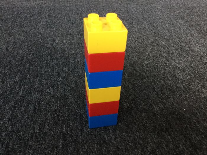 Duplo Tower. Lego-Based Therapy.
