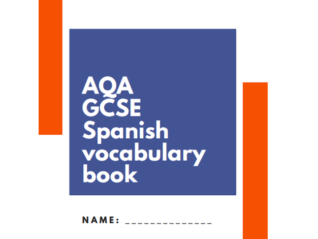 NEW SPANISH GCSE AQA VOCABULARY BOOK