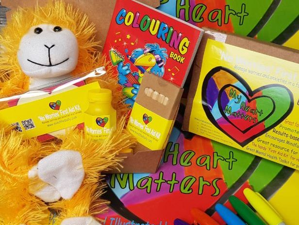 'No Worries' First Aid Kit for 'Healthy Minds'