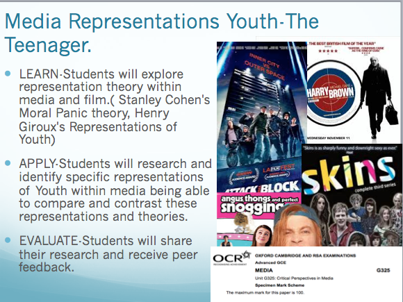 Representation of Youth in Tv and Film