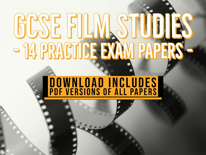 14 GCSE Film Studies mock exam papers