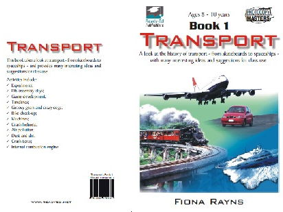 Transport Book 1 - Activities for 8 - 10 years