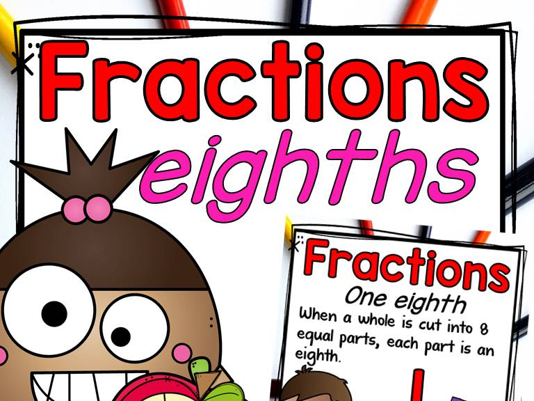 Fractions: Wholes and Eighths
