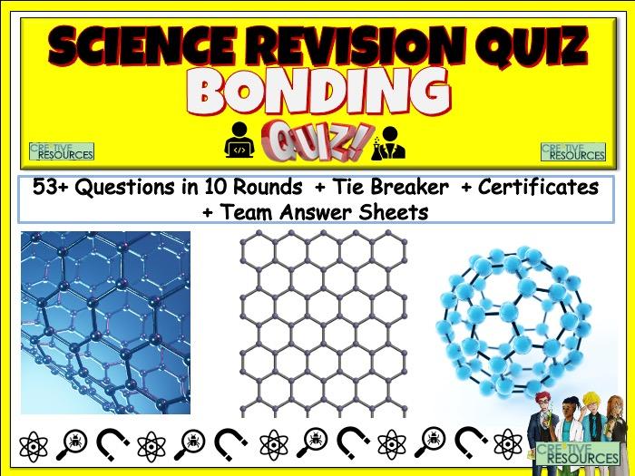 Bonding Science Quiz