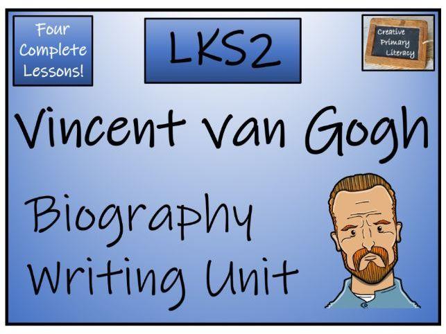 LKS2 Vincent van Gogh Biography Writing Unit