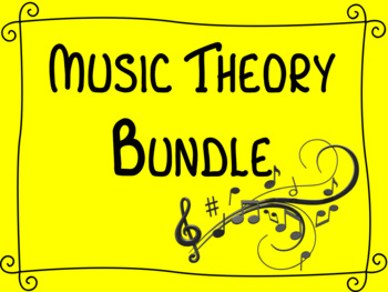 Music Theory BUNDLE
