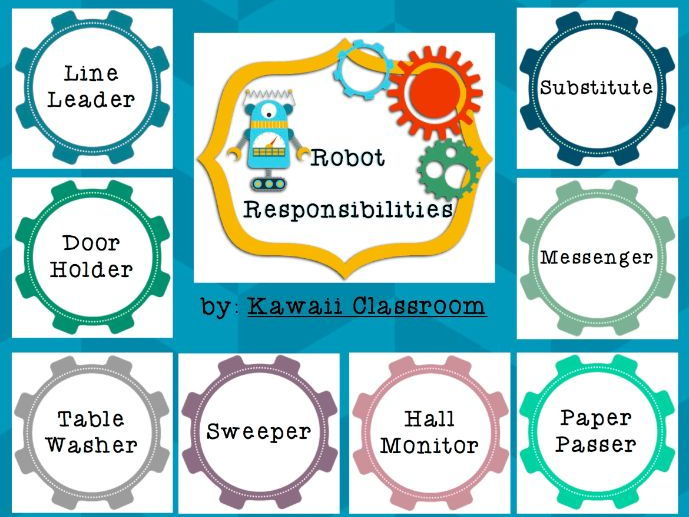 Robot Responsibilities Job Board