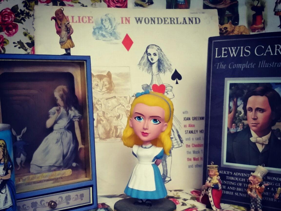 "Lights! Camera! Literature! Spike's SUPER TOOL for ""Alice in Wonderland"""