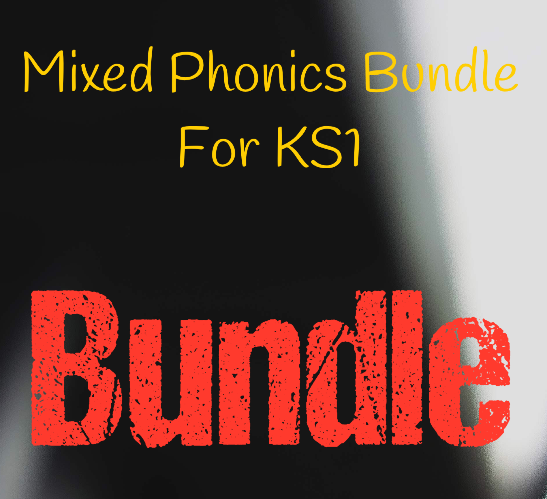 Phonics Bundle Pack for KS1