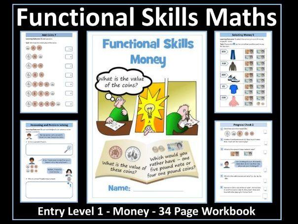 Functional Skills Maths - Entry Level 1 - Money