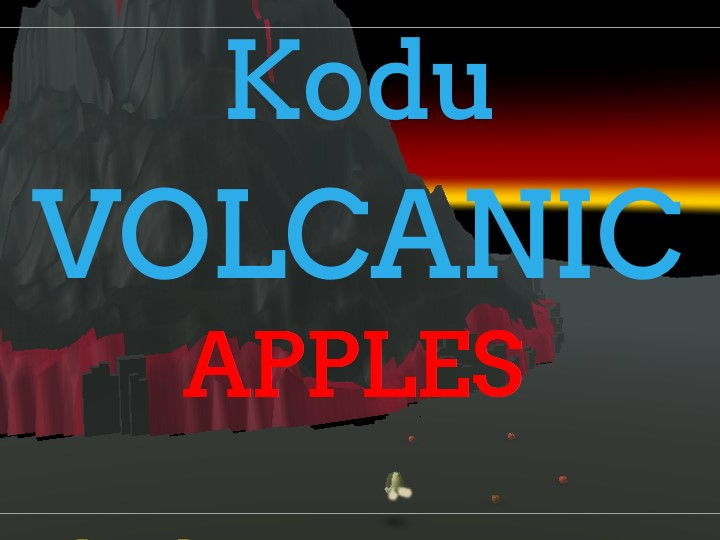 Kodu - Volcanic Apples - Lesson 1